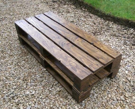 coffee table reclaimed wood